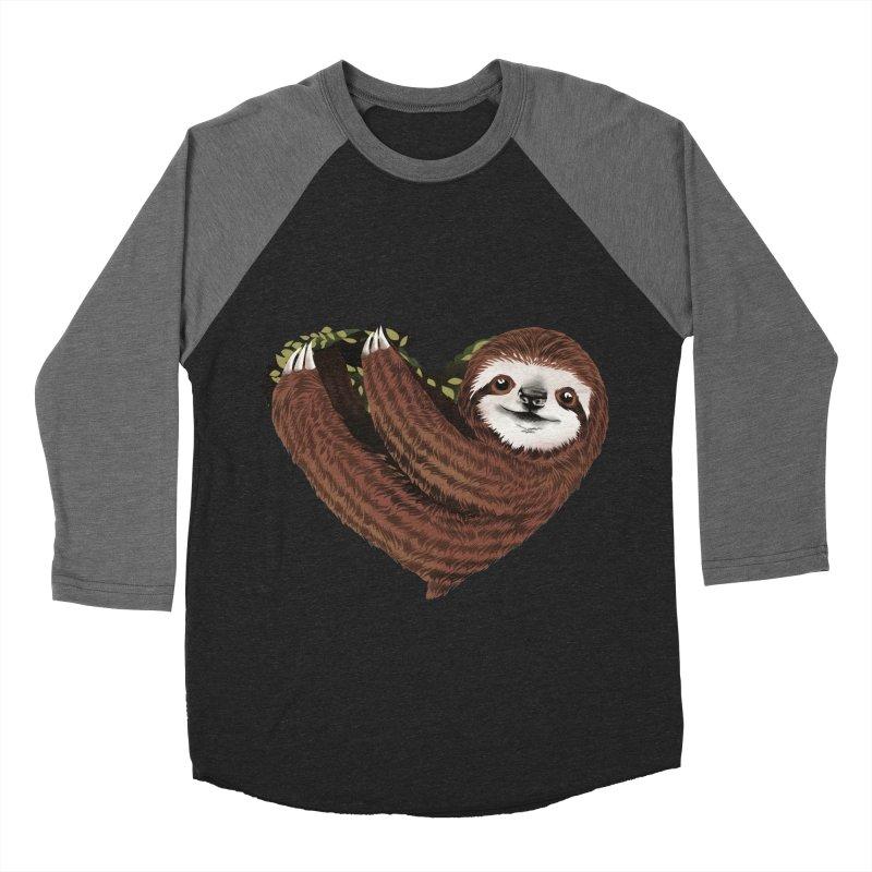 Love Mood Men's Baseball Triblend Longsleeve T-Shirt by dandingeroz's Artist Shop