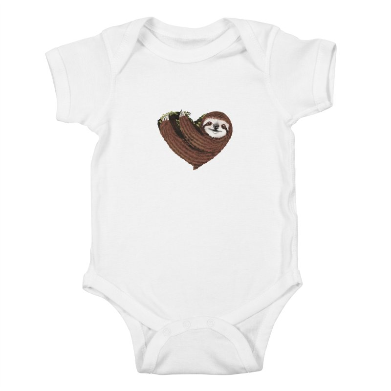 Love Mood Kids Baby Bodysuit by dandingeroz's Artist Shop