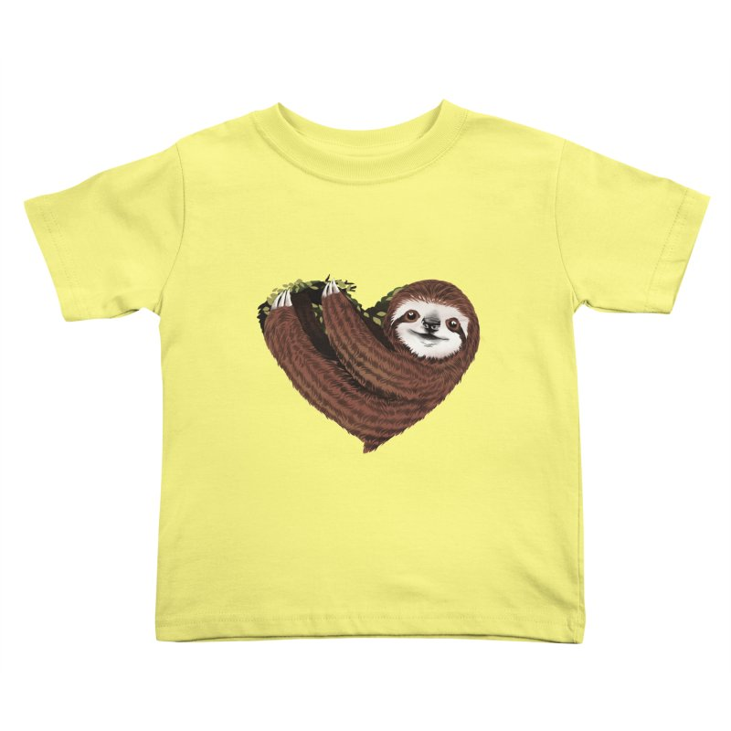 Love Mood Kids Toddler T-Shirt by dandingeroz's Artist Shop