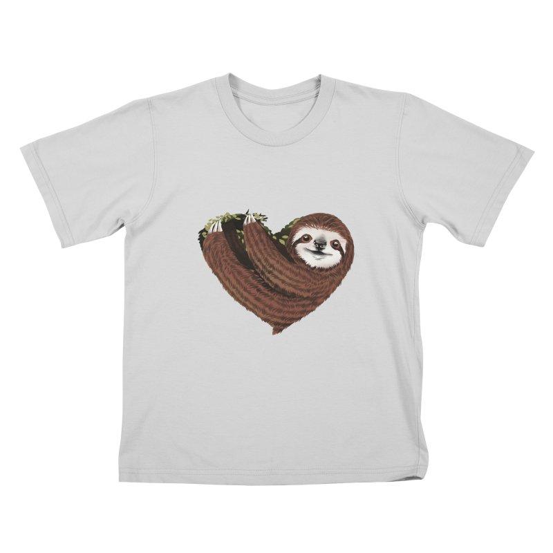 Love Mood Kids T-Shirt by dandingeroz's Artist Shop