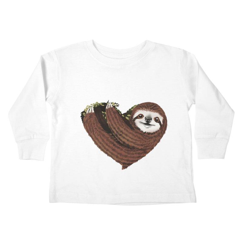 Love Mood Kids Toddler Longsleeve T-Shirt by dandingeroz's Artist Shop