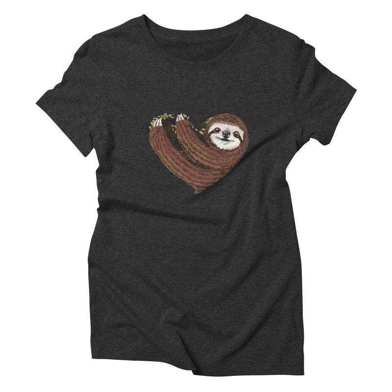 Love Mood Women's Triblend T-Shirt by dandingeroz's Artist Shop