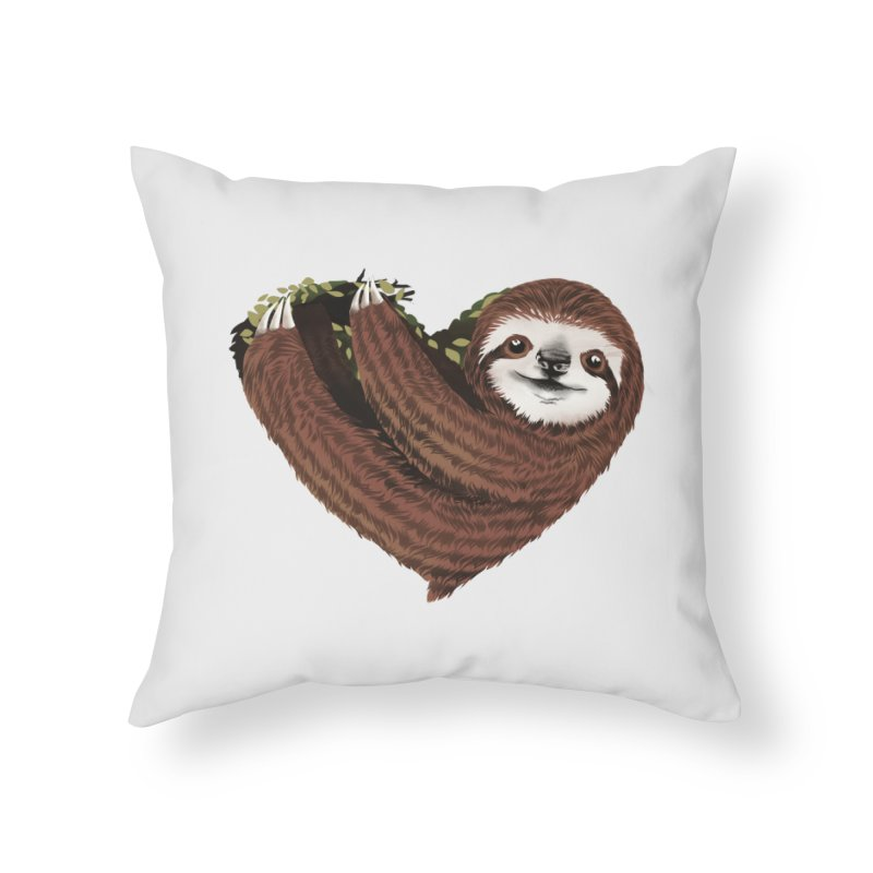 Love Mood Home Throw Pillow by dandingeroz's Artist Shop