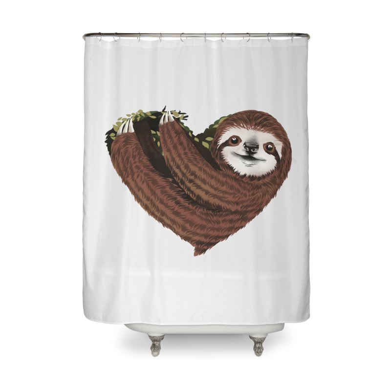 Love Mood Home Shower Curtain by dandingeroz's Artist Shop
