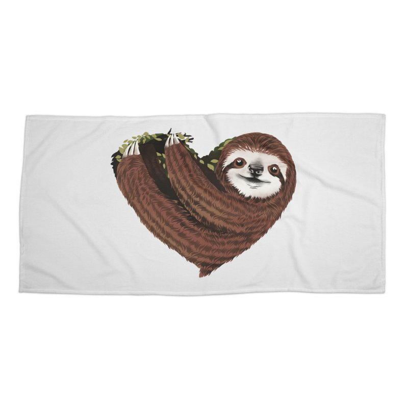 Love Mood Accessories Beach Towel by dandingeroz's Artist Shop