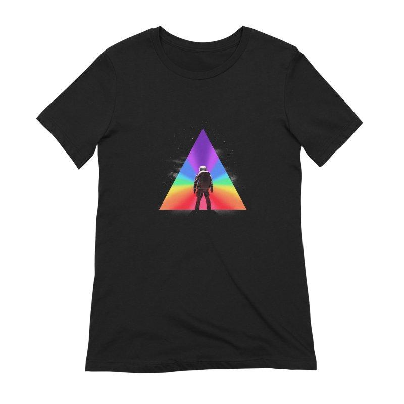 Cosmic Reality Women's T-Shirt by dandingeroz's Artist Shop