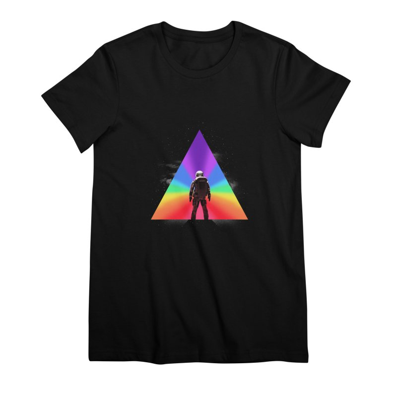 Cosmic Reality Women's Premium T-Shirt by dandingeroz's Artist Shop