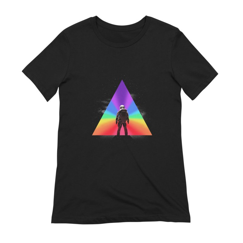 Cosmic Reality Women's Extra Soft T-Shirt by dandingeroz's Artist Shop
