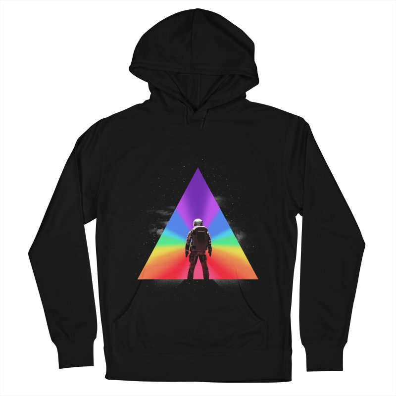 Cosmic Reality Men's French Terry Pullover Hoody by dandingeroz's Artist Shop