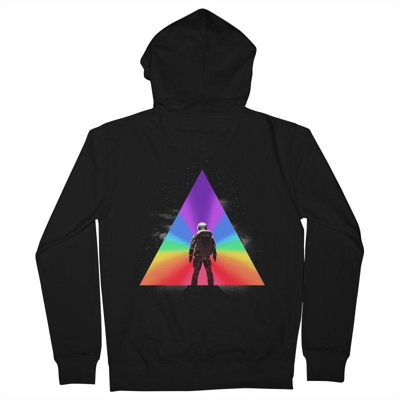Cosmic Reality Women's French Terry Zip-Up Hoody by dandingeroz's Artist Shop