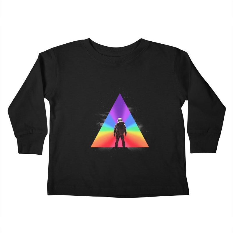 Cosmic Reality Kids Toddler Longsleeve T-Shirt by dandingeroz's Artist Shop