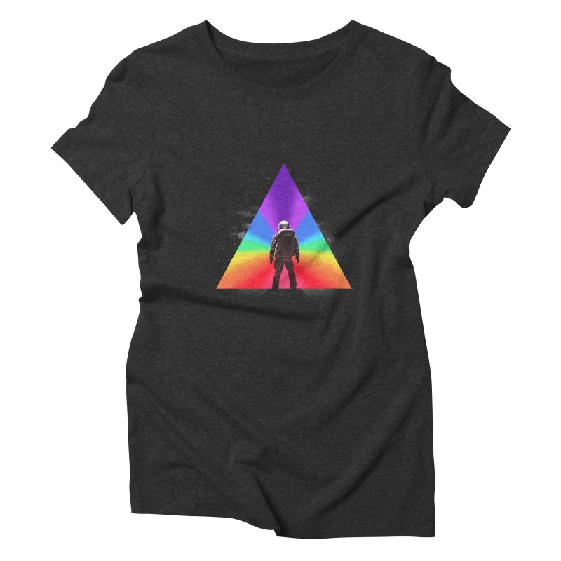 Cosmic Reality Women's Triblend T-Shirt by dandingeroz's Artist Shop