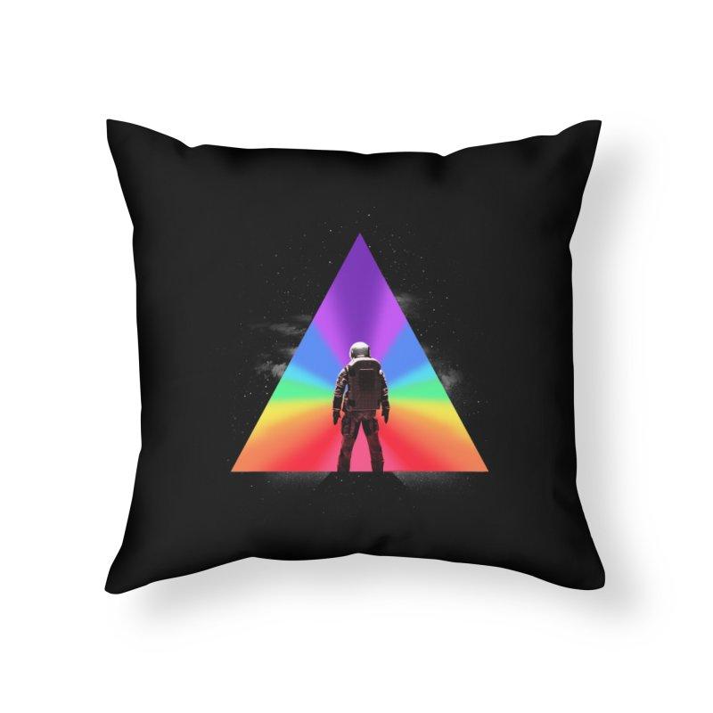 Cosmic Reality Home Throw Pillow by dandingeroz's Artist Shop