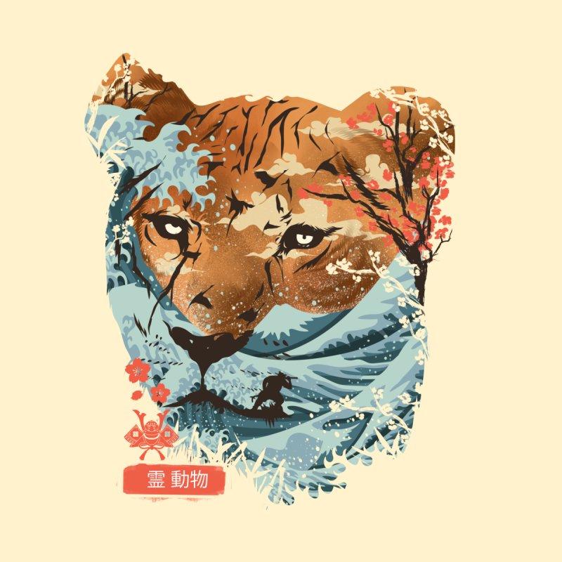 Spirit Animal Tiger Women's T-Shirt by dandingeroz's Artist Shop