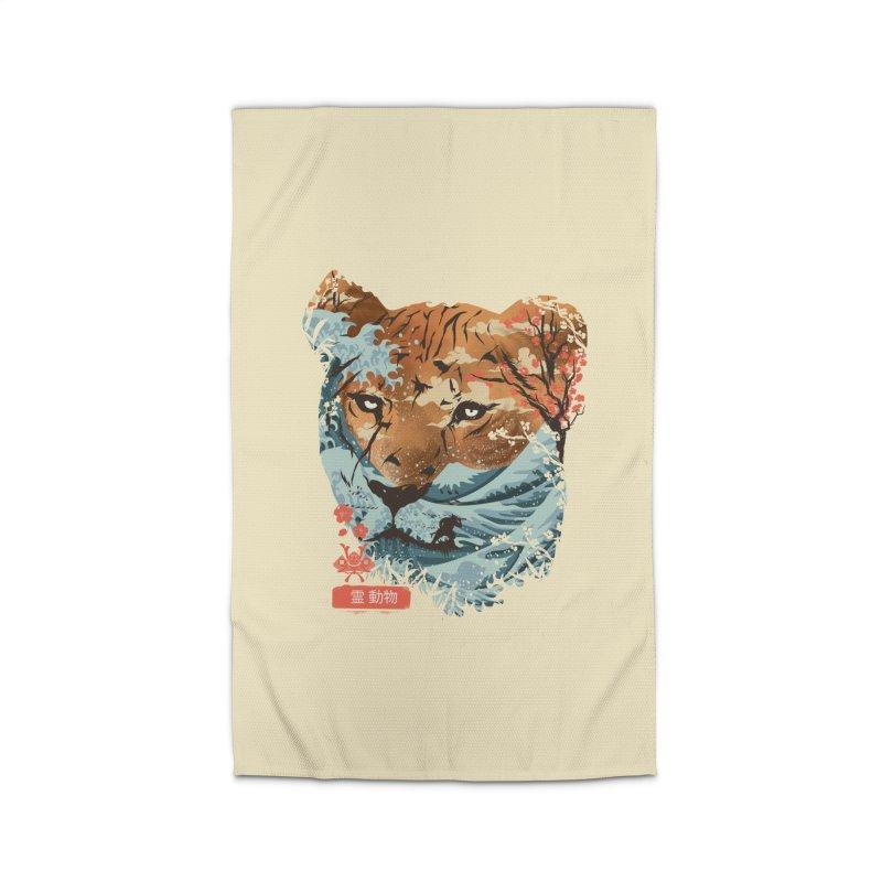Spirit Animal Tiger Home Rug by dandingeroz's Artist Shop