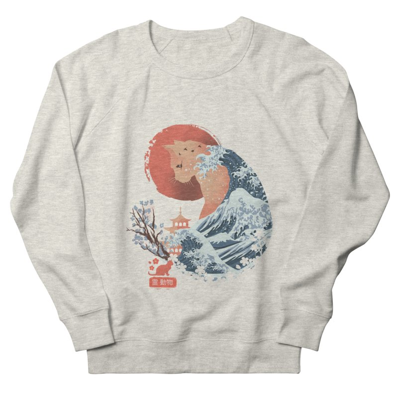Spirit Animal Cat Men's French Terry Sweatshirt by dandingeroz's Artist Shop