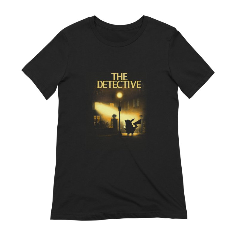 The Detective Women's Extra Soft T-Shirt by dandingeroz's Artist Shop