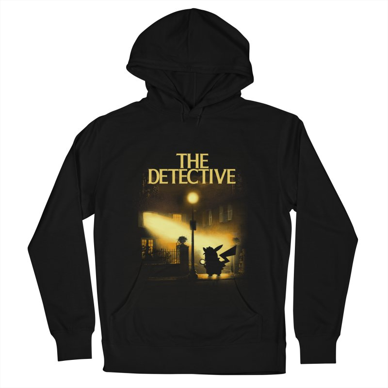 The Detective Men's French Terry Pullover Hoody by dandingeroz's Artist Shop