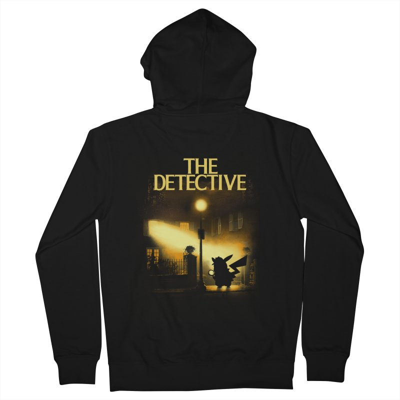 The Detective Women's French Terry Zip-Up Hoody by dandingeroz's Artist Shop