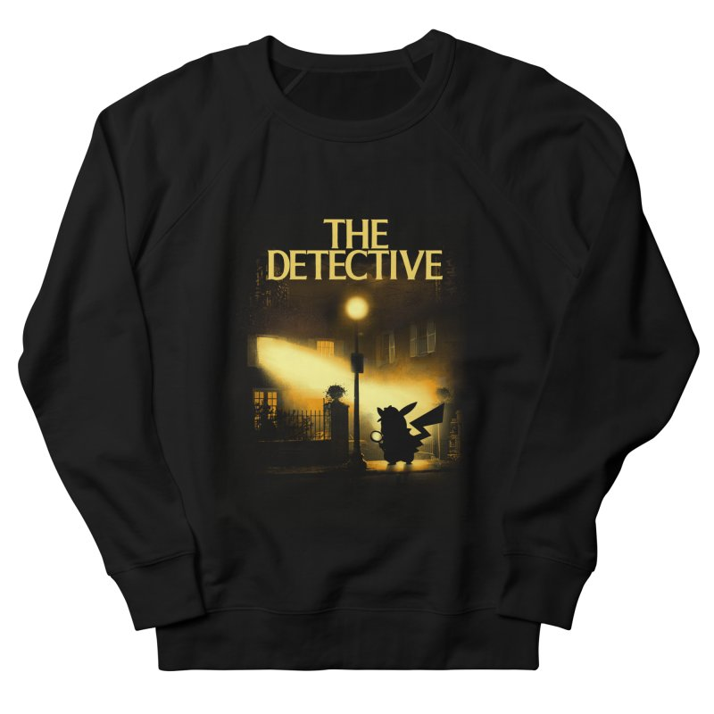 The Detective Men's French Terry Sweatshirt by dandingeroz's Artist Shop