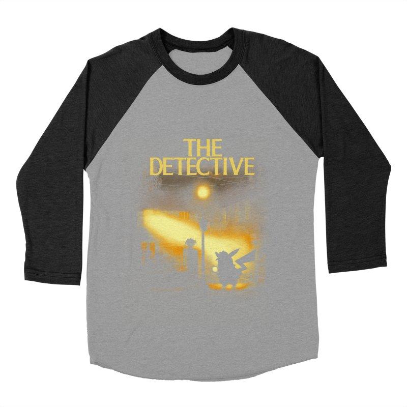 The Detective Women's Baseball Triblend Longsleeve T-Shirt by dandingeroz's Artist Shop