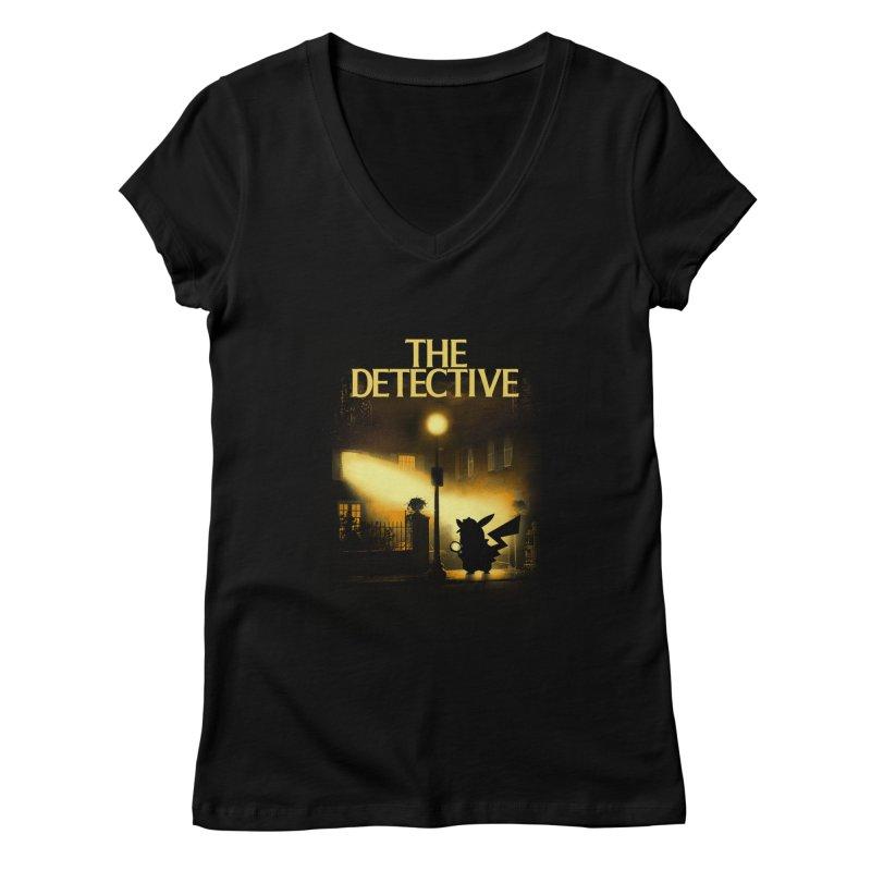 The Detective Women's Regular V-Neck by dandingeroz's Artist Shop