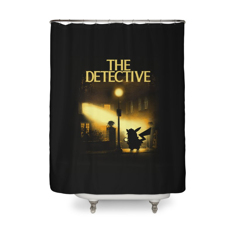 The Detective Home Shower Curtain by dandingeroz's Artist Shop