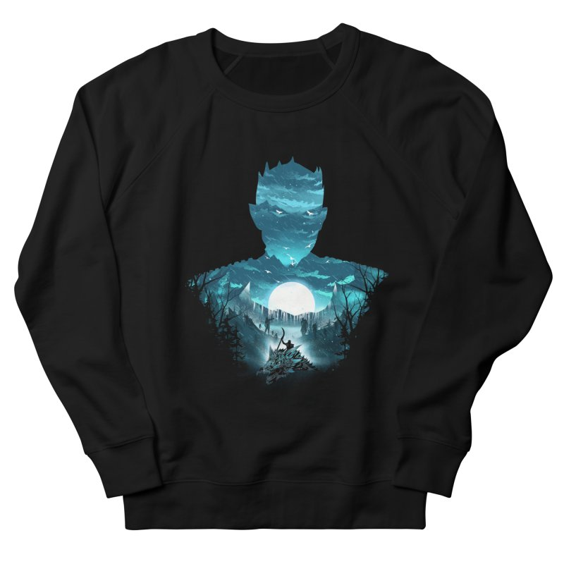 The Night King Men's French Terry Sweatshirt by dandingeroz's Artist Shop
