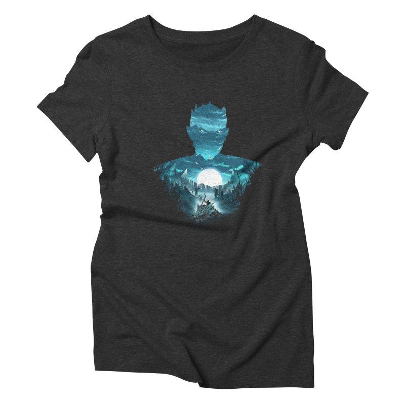 The Night King Women's Triblend T-Shirt by dandingeroz's Artist Shop