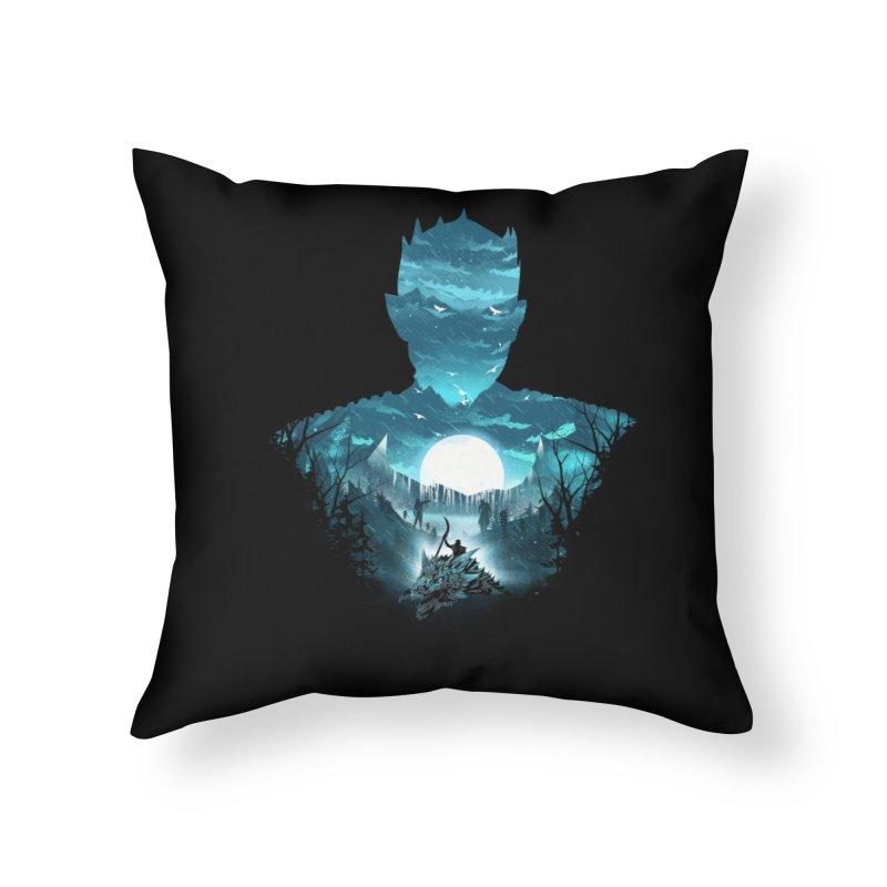 The Night King Home Throw Pillow by dandingeroz's Artist Shop