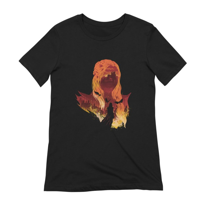 The Mother of Dragons Women's Extra Soft T-Shirt by dandingeroz's Artist Shop