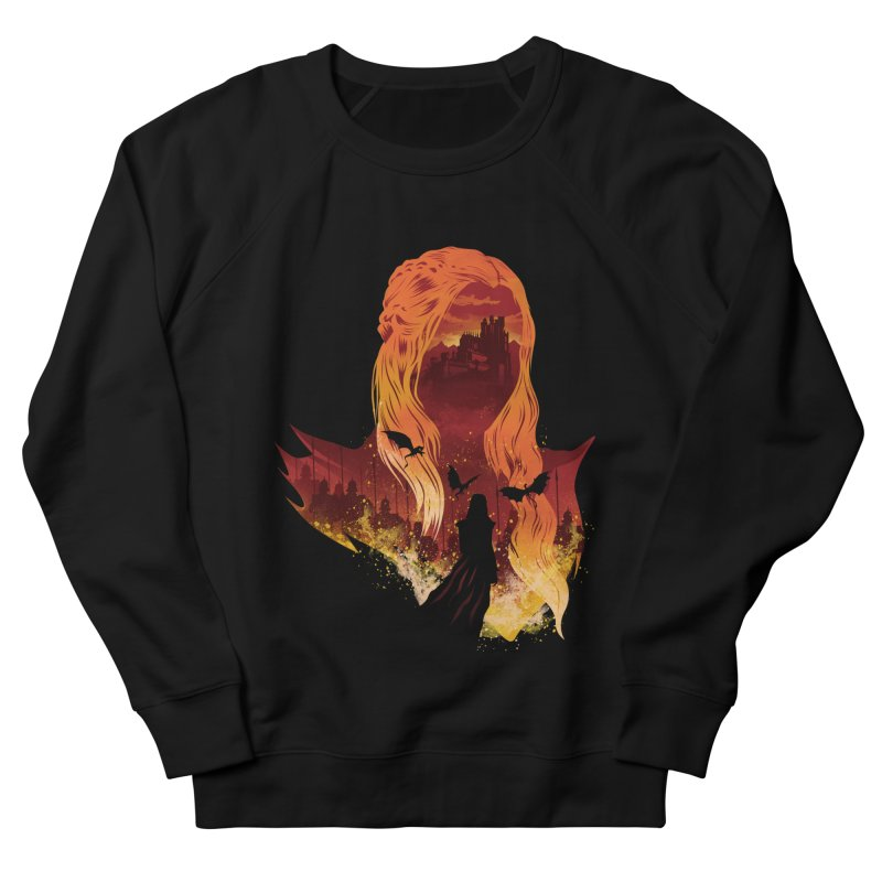 The Mother of Dragons Men's French Terry Sweatshirt by dandingeroz's Artist Shop