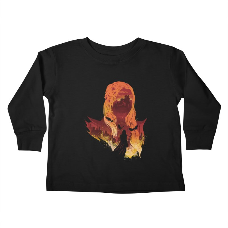The Mother of Dragons Kids Toddler Longsleeve T-Shirt by dandingeroz's Artist Shop