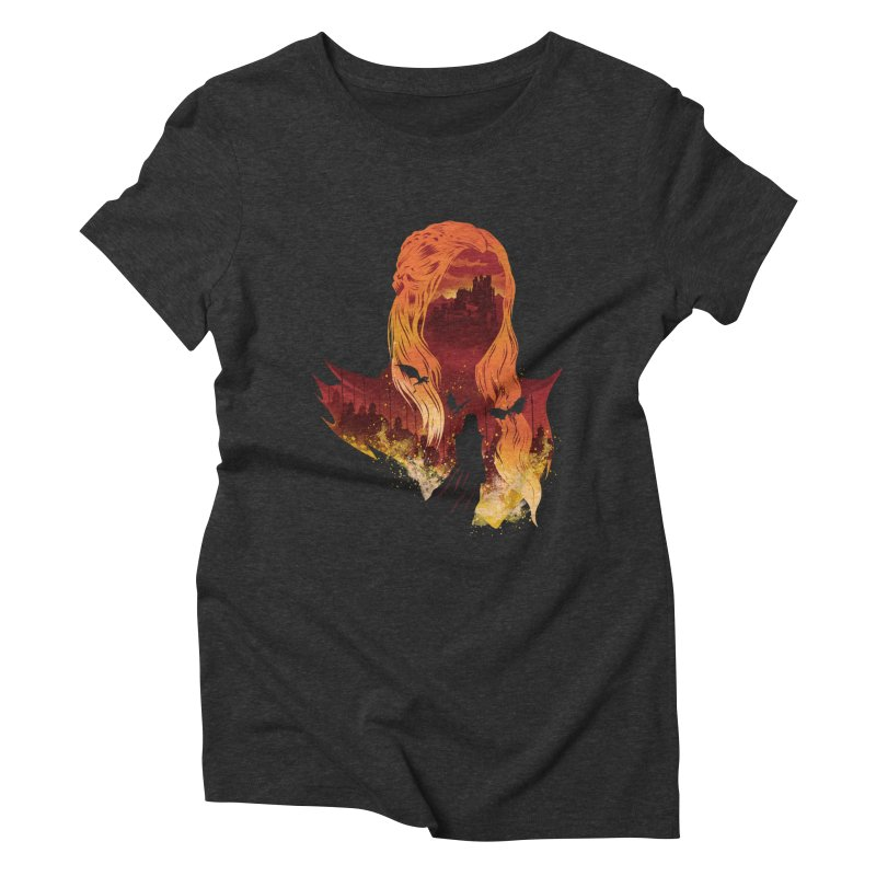 The Mother of Dragons Women's Triblend T-Shirt by dandingeroz's Artist Shop