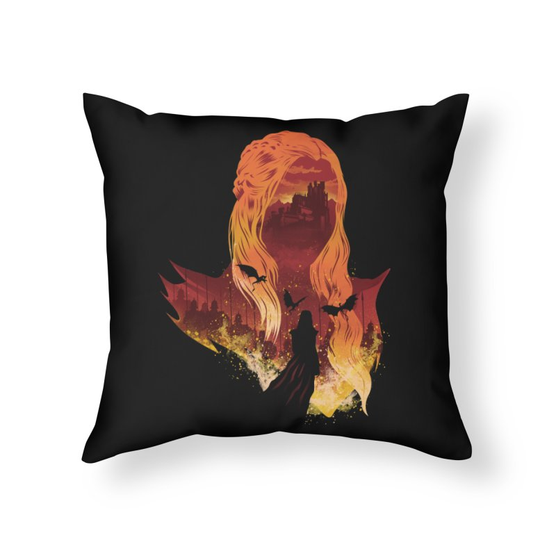 The Mother of Dragons Home Throw Pillow by dandingeroz's Artist Shop