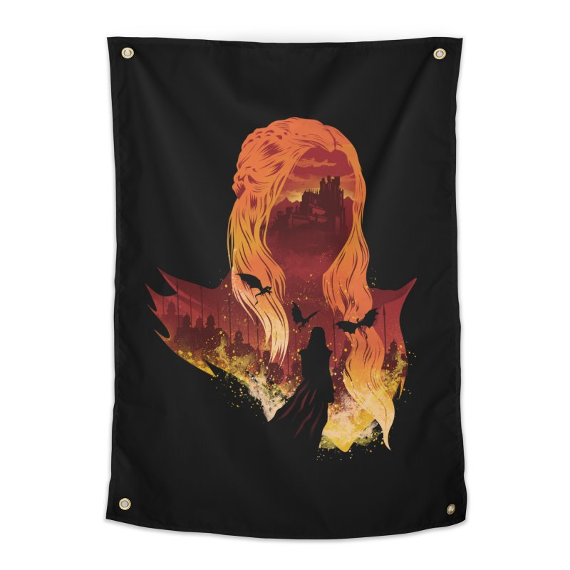 The Mother of Dragons Home Tapestry by dandingeroz's Artist Shop