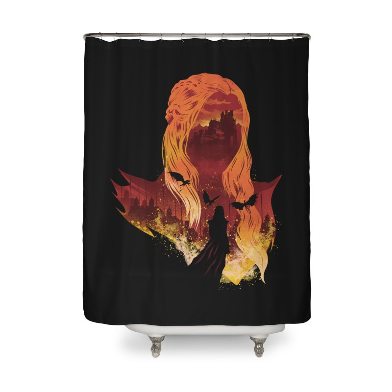 The Mother of Dragons Home Shower Curtain by dandingeroz's Artist Shop
