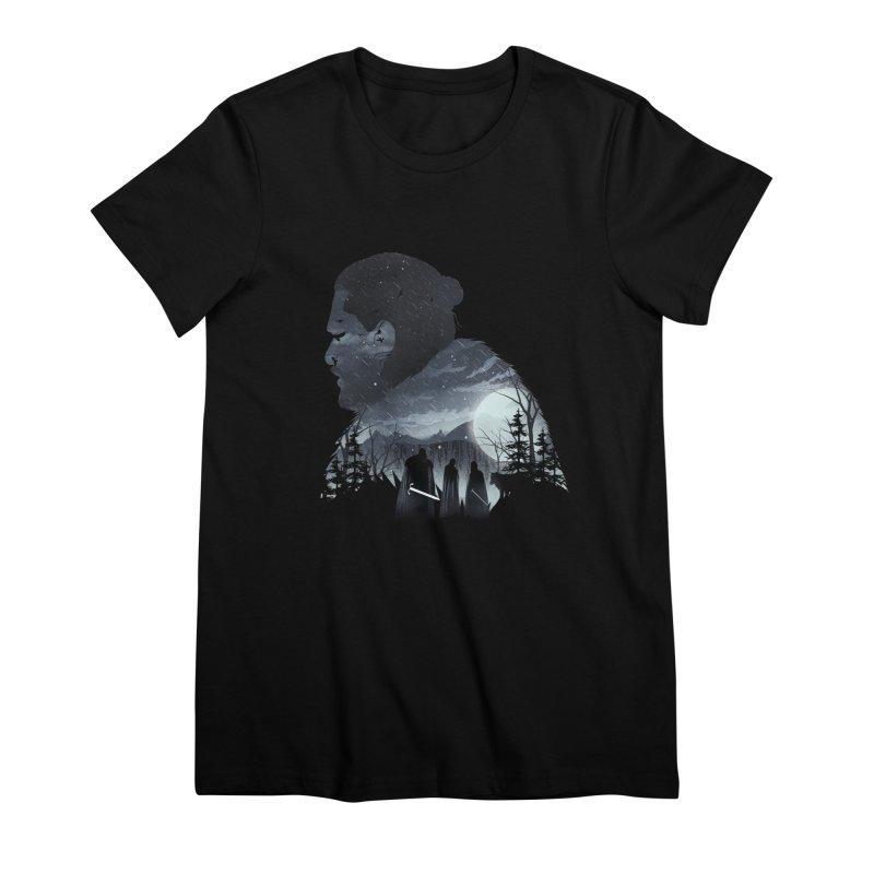 The King in the North Women's Premium T-Shirt by dandingeroz's Artist Shop