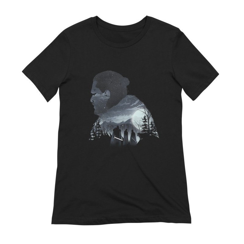 The King in the North Women's Extra Soft T-Shirt by dandingeroz's Artist Shop