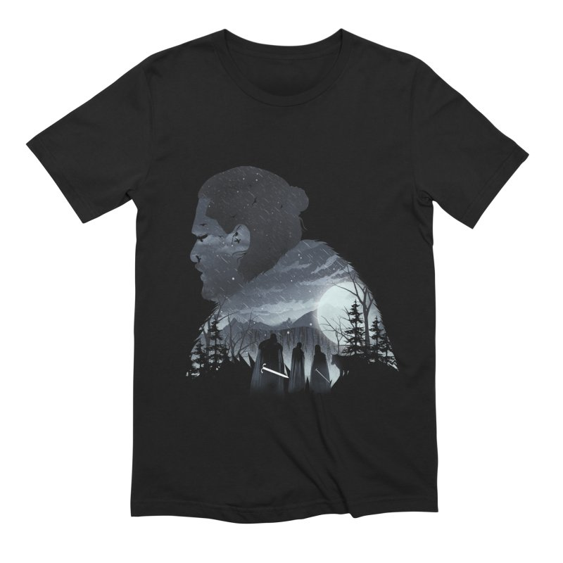 The King in the North Men's Extra Soft T-Shirt by dandingeroz's Artist Shop
