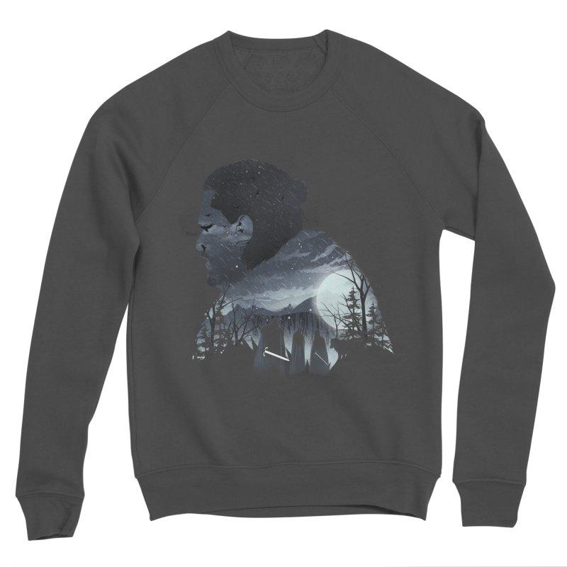 The King in the North Women's Sponge Fleece Sweatshirt by dandingeroz's Artist Shop