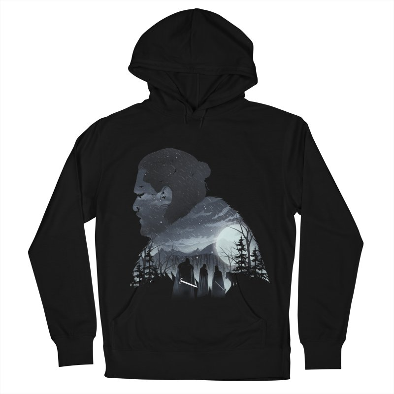 The King in the North Men's French Terry Pullover Hoody by dandingeroz's Artist Shop