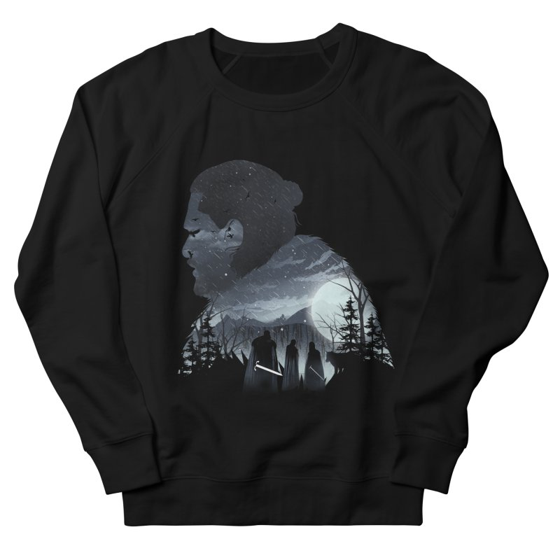 The King in the North Men's French Terry Sweatshirt by dandingeroz's Artist Shop