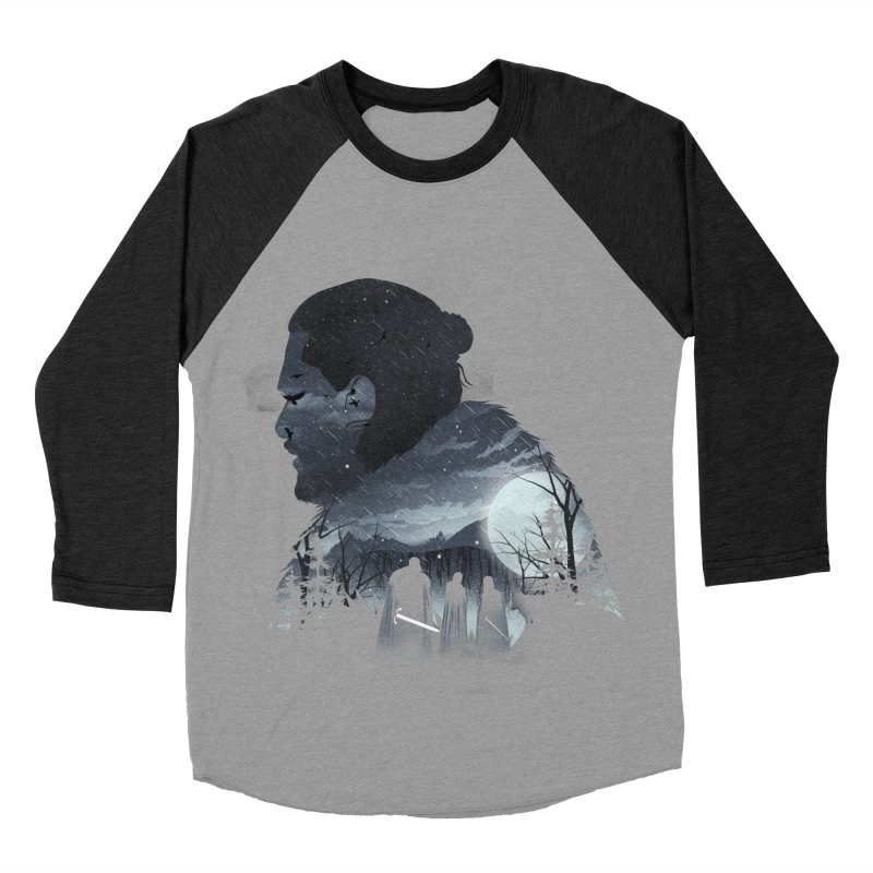 The King in the North Men's Baseball Triblend Longsleeve T-Shirt by dandingeroz's Artist Shop