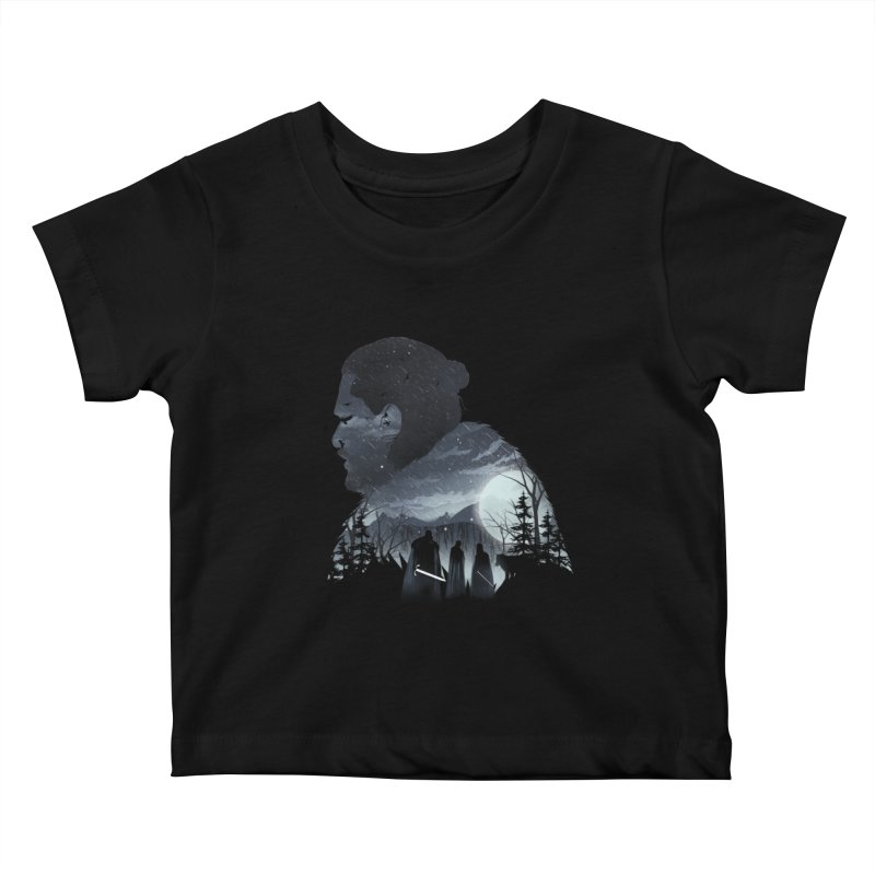 The King in the North Kids Baby T-Shirt by dandingeroz's Artist Shop
