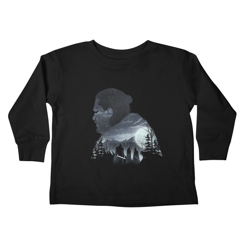 The King in the North Kids Toddler Longsleeve T-Shirt by dandingeroz's Artist Shop