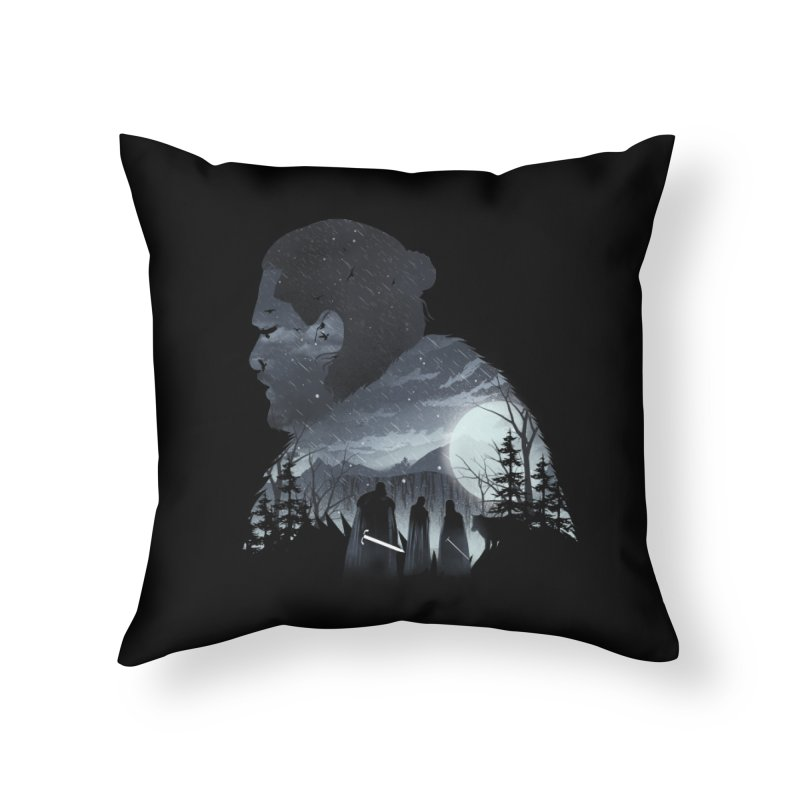 The King in the North Home Throw Pillow by dandingeroz's Artist Shop