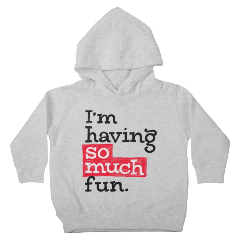 What A Blast Kids Toddler Pullover Hoody by dandrawnthreads