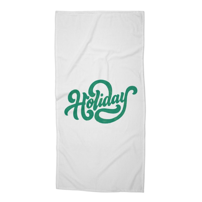 Standard Festivity Uniform Accessories Beach Towel by dandrawnthreads