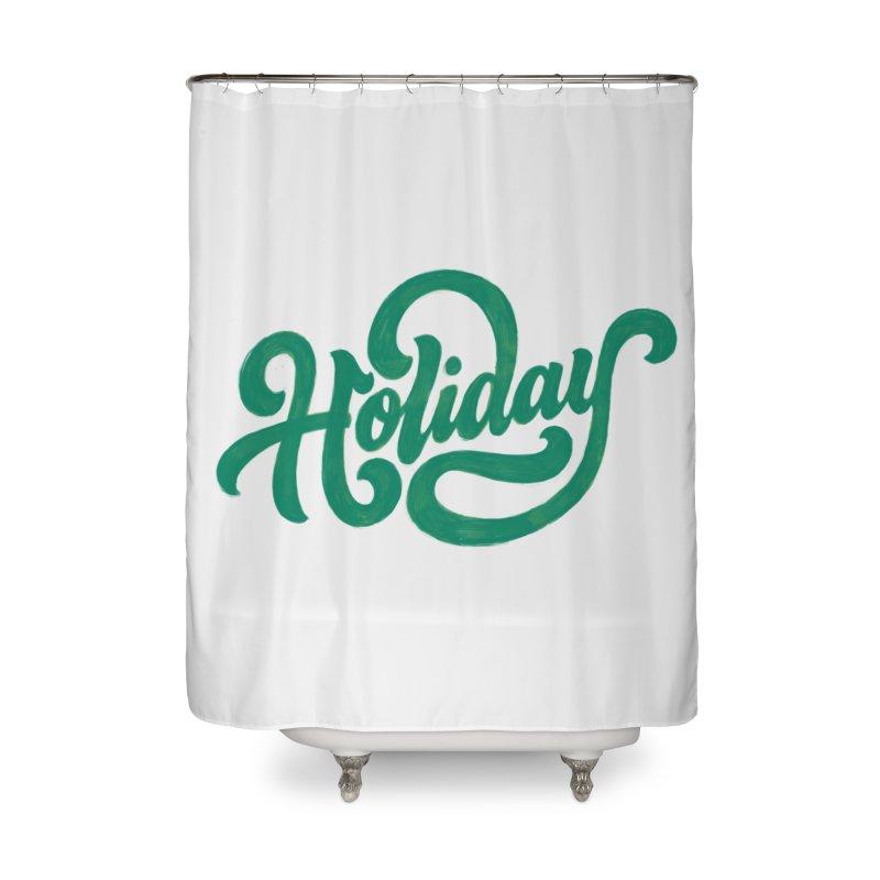 Standard Festivity Uniform Home Shower Curtain by dandrawnthreads